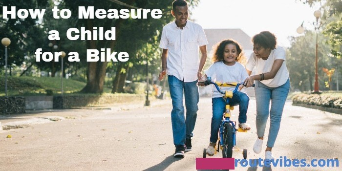 How to Measure a Child for a Bike