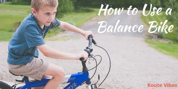 How to Use a Balance Bike