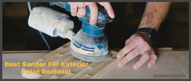 Best Sander For Exterior Paint Removal